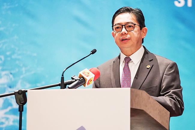 H.E. Dr. Mohd Amin Liew Abdullah, Minister of Finance, Brunei Darussalam