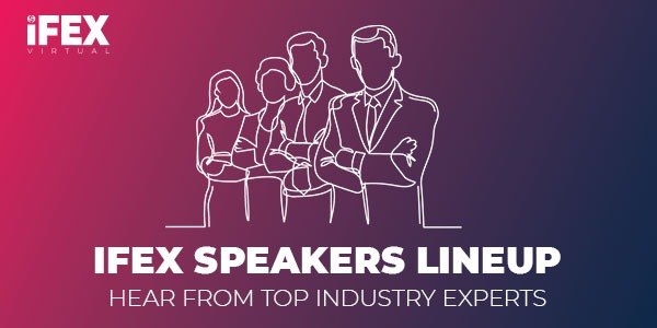 iFEX Virtual Expo Announces Keynote Speakers Lineup