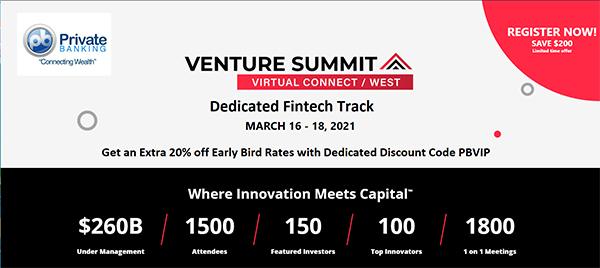 Venture Summit Virtual Connect West